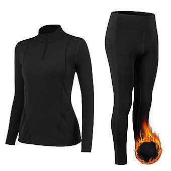 Pitkät puvut Talvi Lämpimät Alusvaatteet Bodysuits Slim Intimate Pajamas Thermal