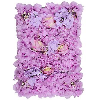 Hydrangea Artificial Fake Flower Wall for Backdrops