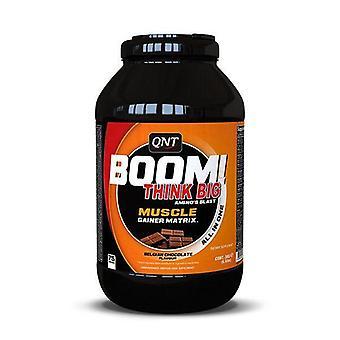 QNT BOOM! Erőteljes izomtömeg Advanced Gainer fehérje-3kg tej csokoládé