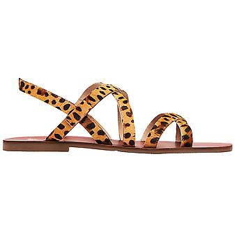 Joules mujeres Roselle Luxe cuero strappy sandalias