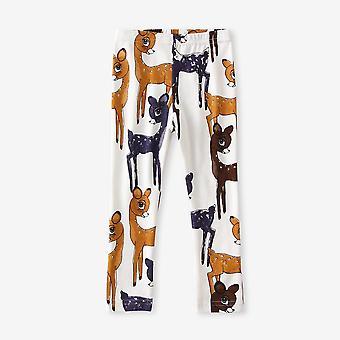 Newborn Leggings Cartoon Animal Pattern Winter 100% Cotton Soft Pants