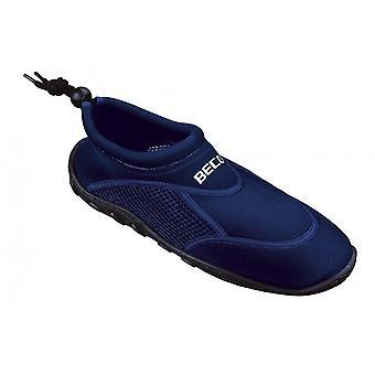 BECO marinblå vatten skor-44 (EUR)