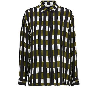 Masai Clothing Ibilla Check Print Shirt