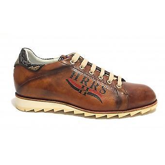 Men's Shoes Harris Sneaker Leather Gold Tamponato/ Minoa U17ha116