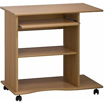 Wokex-Mbel 4024 5531 Computertisch, Buche-Nachbildung, Abmessungen BxHxT: 80 x 75 x 50 cm