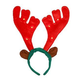 Christmas Shop Rudolph musikalske lyse opp gevir hodebåndet