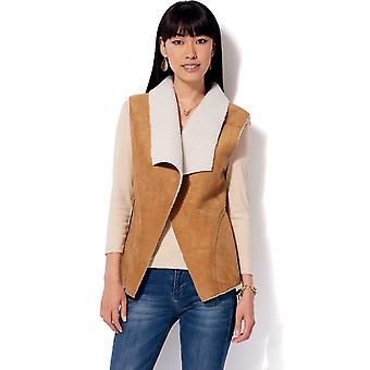Kwik Sew Sewing Pattern 4196 Misses Shawl Collar Vest Coat Belt Size XS-XL UC