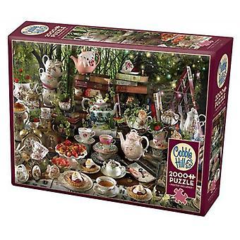 Cobble hill puzzle - mad hatter's tea party - 2000 pc