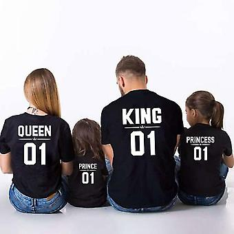 Familie Kleidung T-shirt, Familie Outfits Vater-Mutter T-shirt