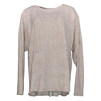 Cuddl Duds Women's Ultra Plush Velvet Fleece Pullover PJ Top A384548