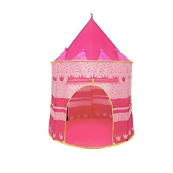 Welcomed By Childrens Kids Baby Pop Up Play Tent Fairy Girls Boys Playhouse(pink)