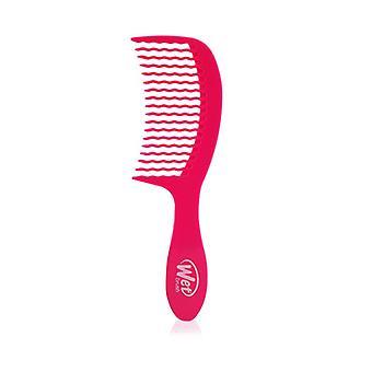 Detangling Comb - # Pink - 1pc