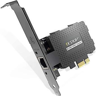 FengChun Gigabit Ethernet PCI Express PCI-E Netzwerkkarte 10/100 / 1000Mbps RJ45 LAN Adapter