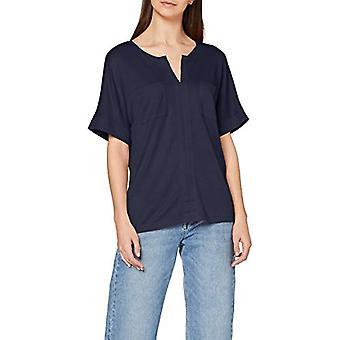 ESPRIT Collection 020EO1K308 T-Shirt, 400/Navy, L Donna