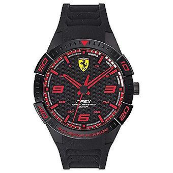 Scuderia Ferrari Analog Klocka Kvarts Man med silikonrem 0830662