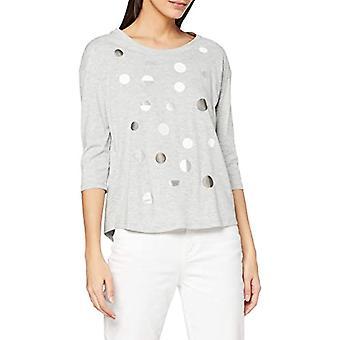 ESPRIT 110EE1K323 T-Shirt, 044/grey Light 5, M Woman