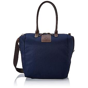 Roeckl - Unisex crossbody bag, 18 x 37 x 42 cm, Blue (blue (navy)), 18x37x42 cm (B x H x T)