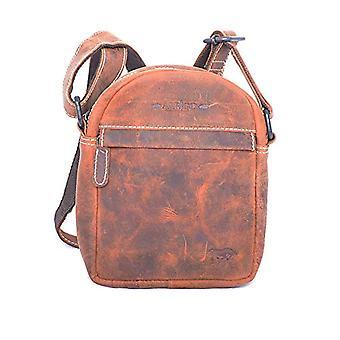 Arrigo 8294B, Unisex Adult Shoulder Bag, Brown (Brown (Cognac Cognac)), 17x20x4.5 cm (B x H x T)