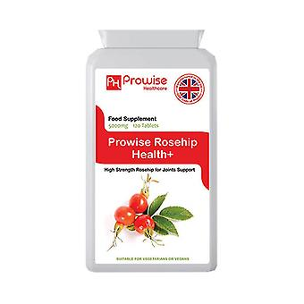 Rosehip Health 5000mg 120 Tablets | Suitable For Vegetarians & Vegans | Made In UK by Prowise