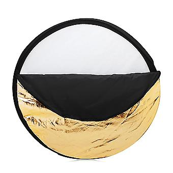 """24"""" 60Cm disc 5 in 1 multi portable collapsible photography studio photo light reflector"""