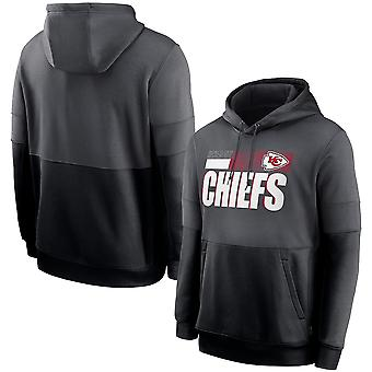 Kansas City Chiefs Sports Tops Hooded Sweater 3wy278
