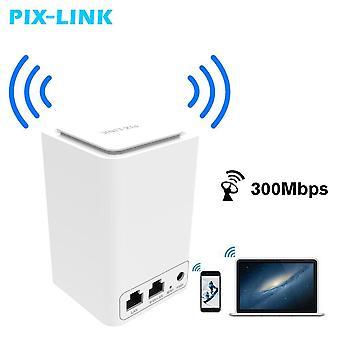 DZK 300Mbps WiFi range extender vezeték nélküli útválasztó/ repeater / AP / Wps kettős hálózati vezeték nélküli útválasztó