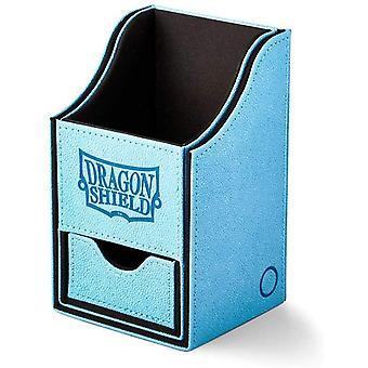 Dragon Shield Nest+ Box 100 - Blue/Black