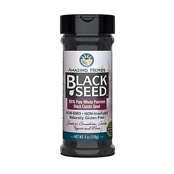 Amazing Herbs Black Seed Gourmet Whole Seed, 4 oz