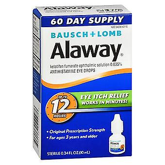 Bausch And Lomb Bausch + Lomb Alaway Antihistamine Eye Drops, 0.33 Oz