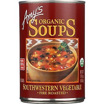 Amys Soup Veg Rstd Sthwstn Gf, Case of 12 X 14.3 Oz