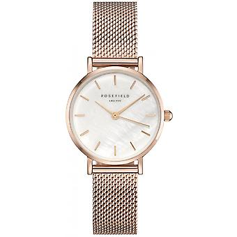 Reloj Rosefield 26WR-265 - Milanese Steel Dor Rose THE SMALL EDIT Mujeres