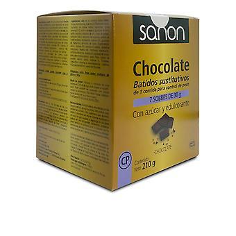 Sanon Sanon Batido Sustitutivo Sabor Chocolate 7 Sobres De 30 Gr Unisex