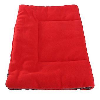 Pet hund kasse varmt bur kennel seng mat blød hyggelig pude