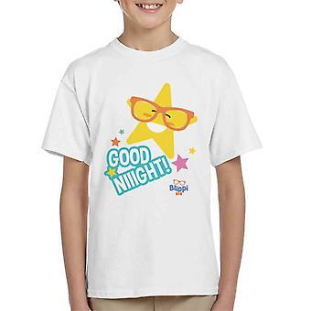 Blippi Good Night Stars Kid's T-Shirt