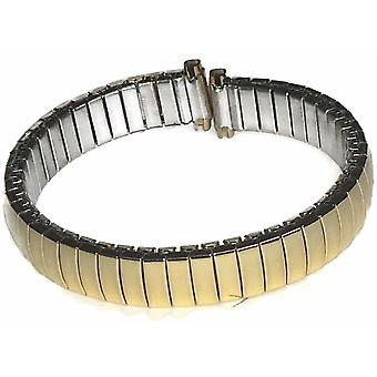 (9mm-13mm) Expander Watch Bracelet 8mm to 20mm Full Mirror Gold Plated