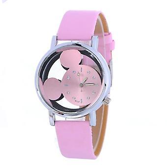 Reloj Infantil Мода Двусторонние Выдолбленые Часы