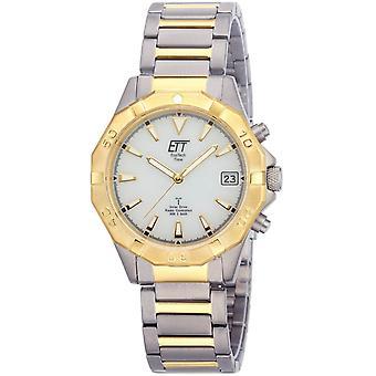 ONE (Eco Tech Time) Gold TitanIUM-11359-25M Men's Watch