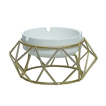 Ashtrays hollow out ash tray desktop decor for home office car