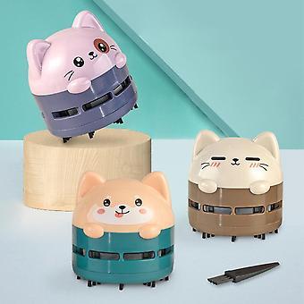 Mini Cartoon Animal Pattern Rechargeable Wireless Vacuum Cleaner