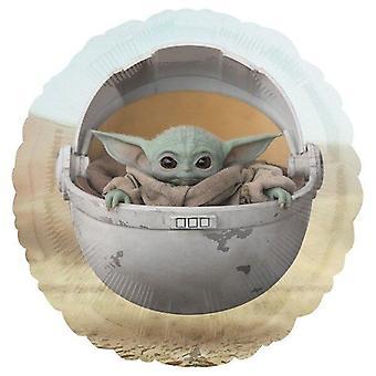 Star Wars Mandalorian Das Kind Baby Yoda Ballon