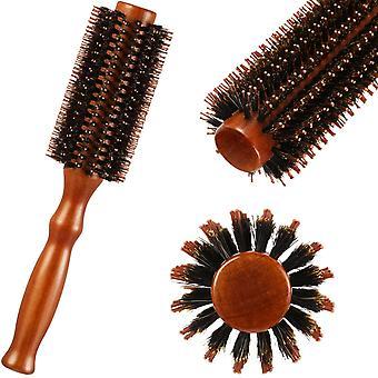 Włosie Okrągła szczotka Okrągła szczotka do włosów Anti Static Roller HairComb Unisex