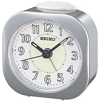 Seiko Luminious väckarklocka - Silver (QHE121S)
