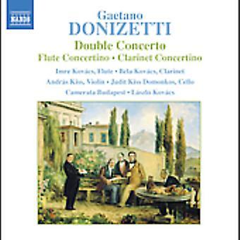 G. Donizetti - Donizetti: Dobbeltkonsert; Fløyte Concertino; Klarinett Concertino [DVD] USA import