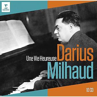 Milhaud - Darius Milhaud 40th Anniversary-Une Vie Heureuse [CD] USA import
