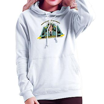 Johnny Cab Total Recall Women's Hooded Sweatshirt