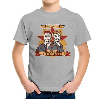 Krazy Ivans Ivan Drago Ivan Danko Dolph Lundgren Arnold Schwarzenegger Kid's T-Shirt