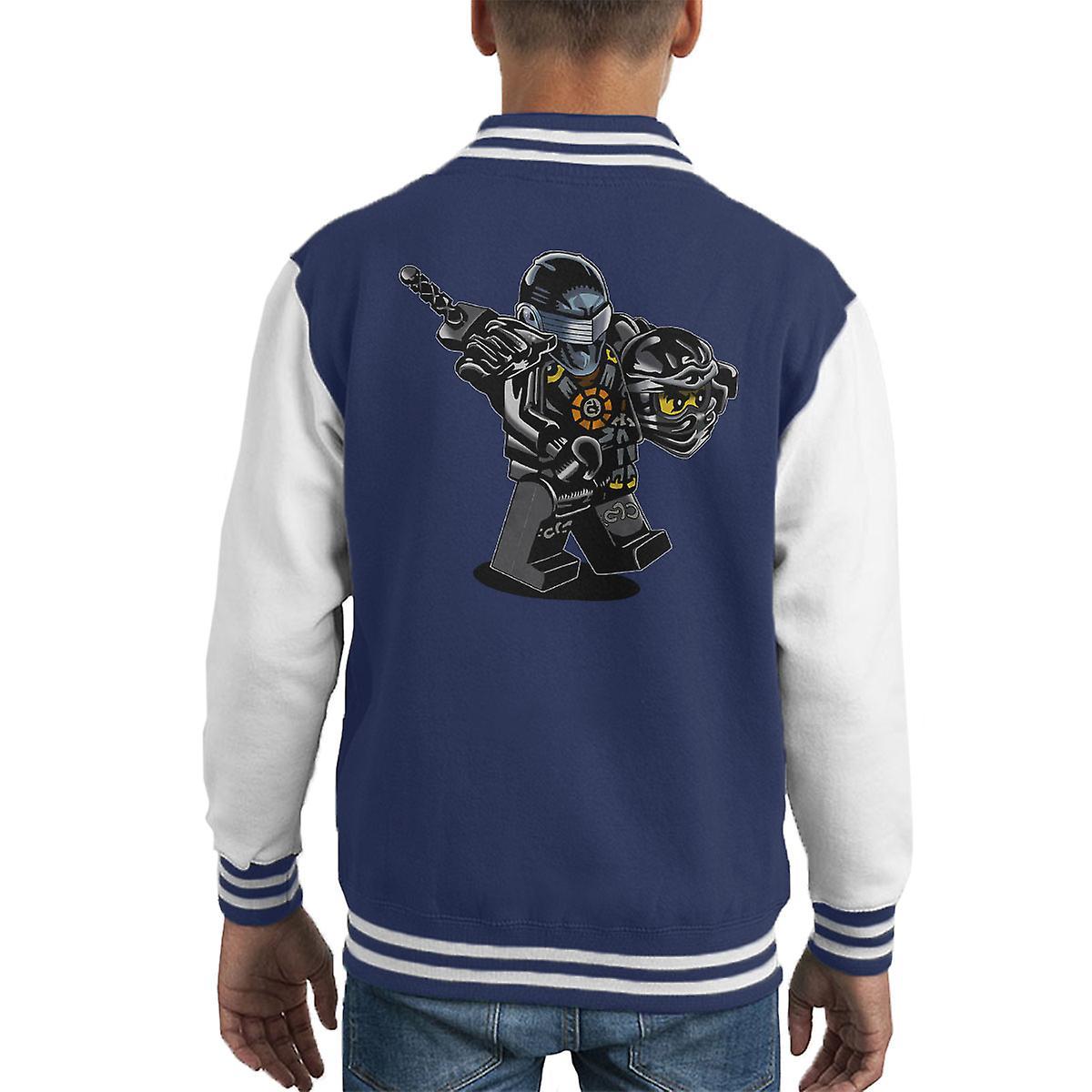 G ich Joe Ninjago Cole Kid Varsity Jacket