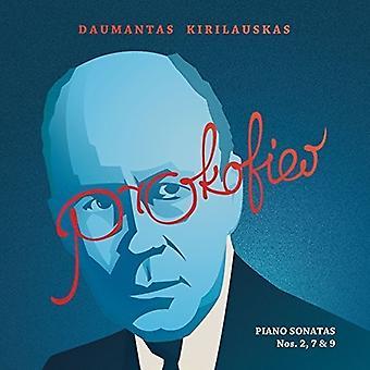 Daumantas Kirilauskas - プロコフィエフ: ピアノ ・ ソナタ集第 2 & 7 & 9 [CD] USA 輸入