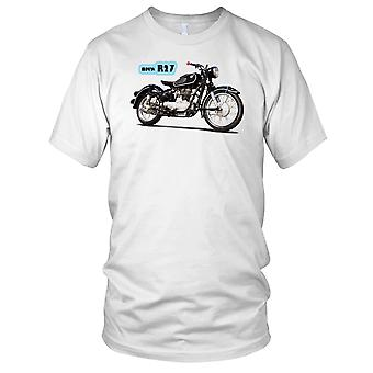 BMW R27 klassiske motorsykkel Biker Mens T-skjorte