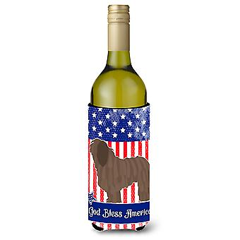Bergamasco Schäferhund American Weinflasche Beverge Isolator Hugger